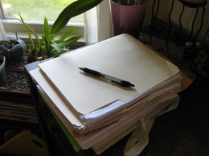 Kate\'s work space