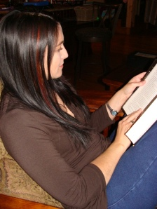 Lisa Damian reading