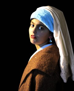 My Girl with Pearl Earring