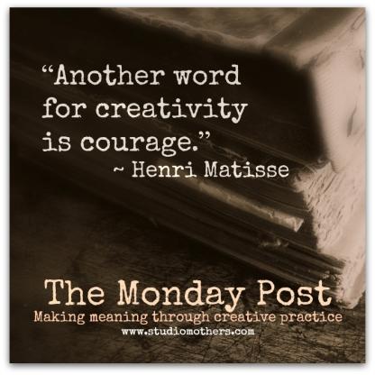 Monday Post Henri Matisse quote