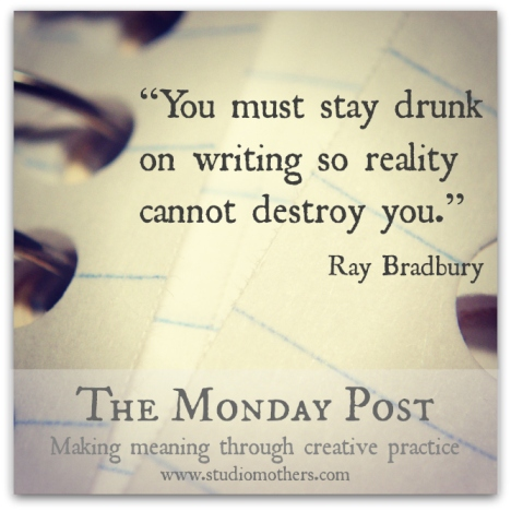 Ray Bradbury quote writing