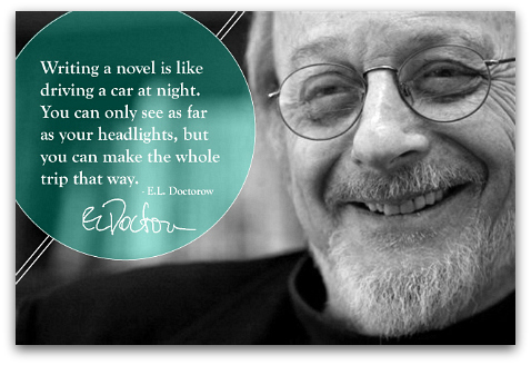 E.L. Doctorow quote