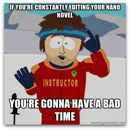 South Park NaNoWriMo