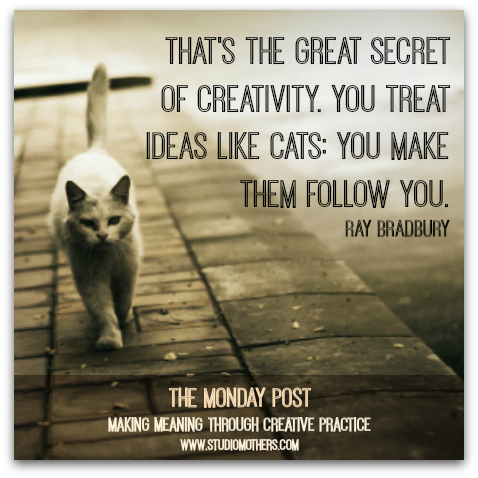 Ray Bradbury Creativity Cats