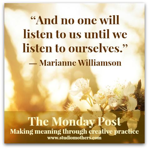 Marianne Williamson Studio Mothers Life Art