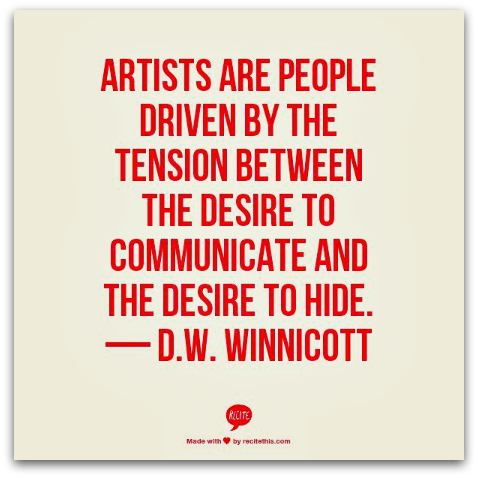 Winnicott quote