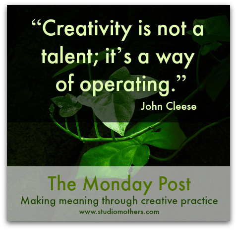 John Cleese creativity quote
