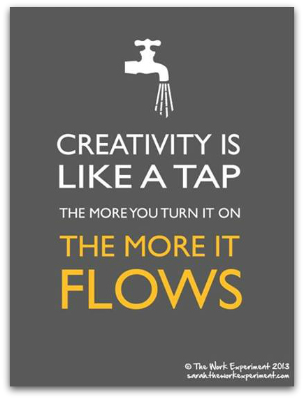 Meme of the Week creativity faucet
