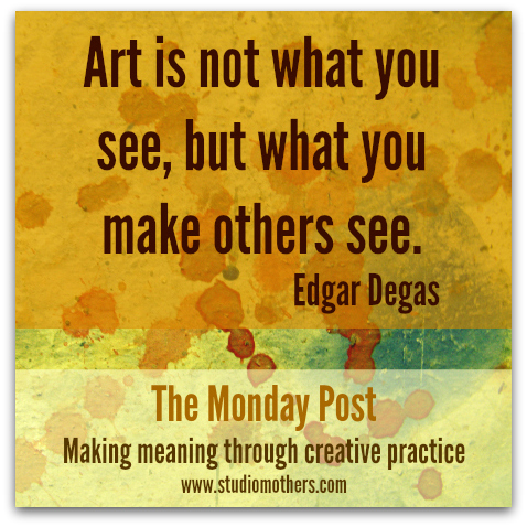 Edgar Degas art quote