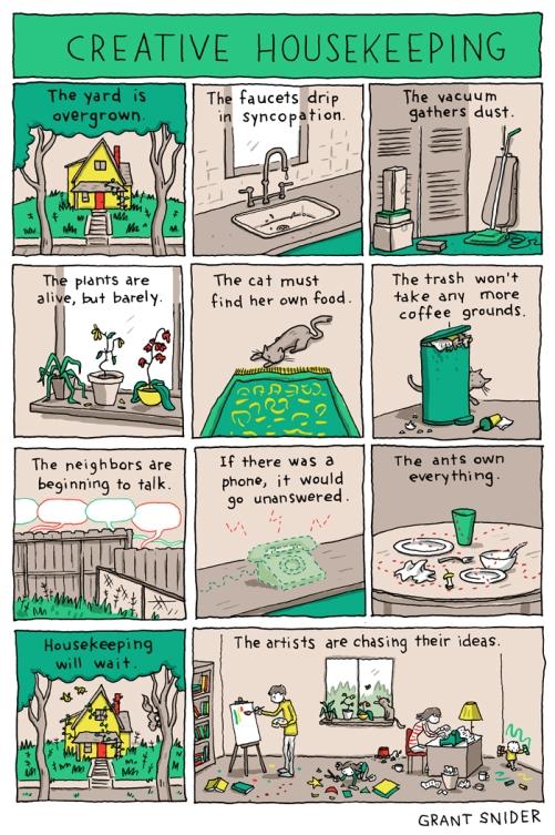 Creative housekeeping