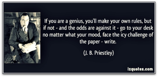 JB Priestley quote