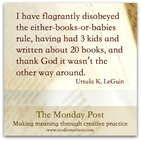Ursula K. LeGuin quote