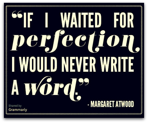 Margaret Atwood quote writing