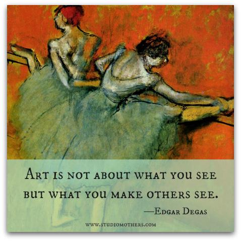 Degas quote
