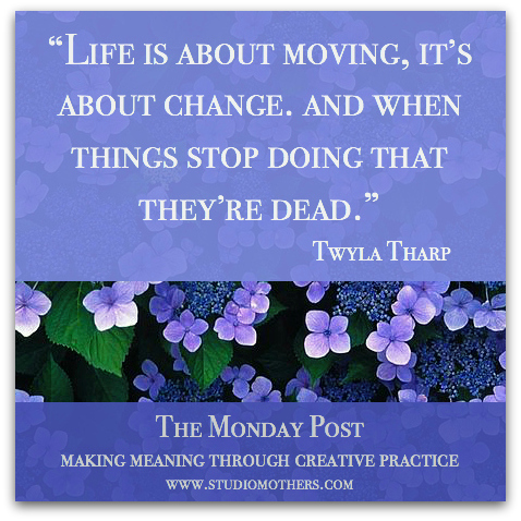 Twyla Tharp quote creativity