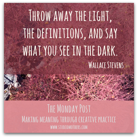 Wallace Stevens quote