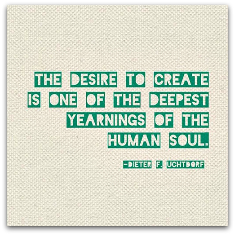The desire to create